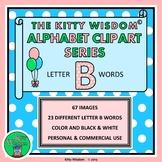 LETTER B CLIP ART Alphabet Beginning Sounds – 67 Images /