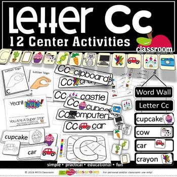 LETTER Cc CENTER ACTIVITY PACK