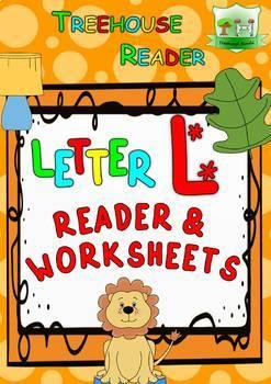 LETTER L - ACTIVITY PACK - Reader, Flashcards, Worksheets