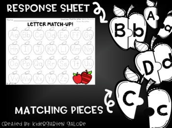 LETTER MATCH - Apples