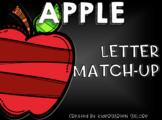 LETTER MATCH - Apples
