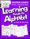 LETTER Qq (ACTIVITY TAB BOOK) PRINT FOLD and GO