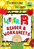 LETTER R - ACTIVITY PACK - Reader, Flashcards, Worksheets