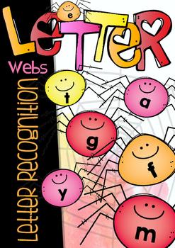 LETTER RECOGNITION - LETTER WEBS