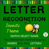 Letter Recognition, Letter Identification: Insects (Down Syndrome, sped)