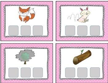 Literacy Center:  Letter Tile Fun, Short O CVC Words