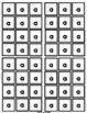 LETTER TILES...ABCs (Black & White only)