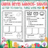 LETTER FOR SANTA- THREE WISE MEN. CARTA SANTA/ PAPA NOEL- REYES MAGOS. Eng. Sp.