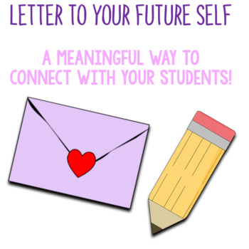 LETTER TO YOUR FUTURE SELF! Broken Down Into Parts That Help Create Meaning