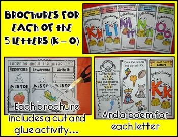 LETTERS GALORE {5 Letters: K to O}