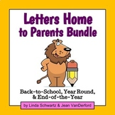 LETTERS HOME TO PARENTS BUNDLE