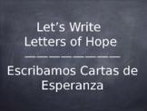 LETTERS OF HOPE / CARTAS DE ESPERANZA