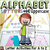 LETTERS OF THE ALPHABET ACTIVITIES: UPPERCASE