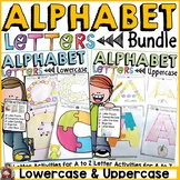 LETTERS OF THE ALPHABET BUNDLE: LOWERCASE AND UPPERCASE