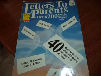 LETTERS TO PARENTS  ISBN 0-673-18279-7