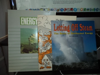 LETTING OFF STEAM STORY ENERGY SCI   (SET OF 3)