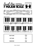 F Major Scale (2 Octaves) - Level One Technical Requirements