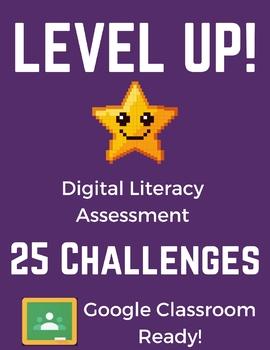 Digital Literacy Assessment (Basic Computer Skills) Google Slides Gamification