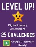 Digital Literacy Assessment: Basic Computer Skills w/Google Slides (Classroom)