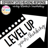 LEVEL UP Your Thinking: Reading Response Flip Cards