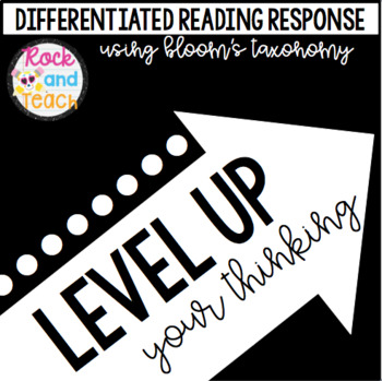 LEVEL UP Your Thinking: Reading Response Flip Cards