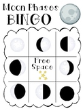 LEVELED Moon Phases Bingo!