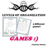 LEVELS OF ORGANIZATION GAMES