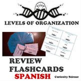 LEVELS OF ORGANIZATION - REVIEW FOR ELLs