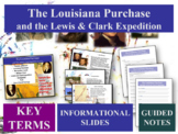LEWIS & CLARK EXPEDITION... engaging 36-slide PPT