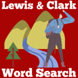 LEWIS & CLARK ACTIVITY (WORD SEARCH)