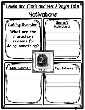 LEWIS and CLARK and ME A Dog's Tale Traits, Motivations, and Contributions