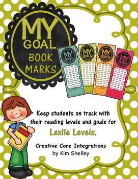 LEXILE Level Goal Book Marks