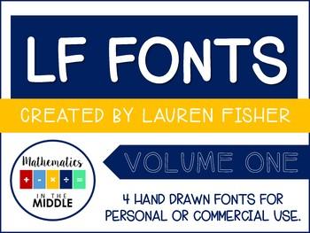 LF Fonts - Volume One