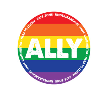 LGBT Ally Stickers