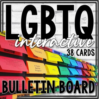 LGBTQ Awareness Bulletin Board (Perfect for Ally Week!)