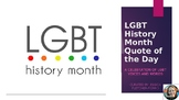 LGBT History Month Quote of the Day