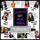 LGBT+ Pride Month Biography Posters
