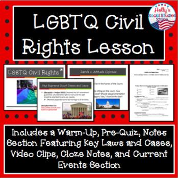 LGBTQ Civil Rights Lesson