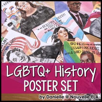 LGBTQ+ History Poster Set