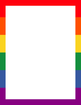 LGBTQIA Pride Stationary
