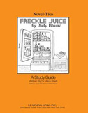 Freckle Juice: A Novel-Ties Study Guide