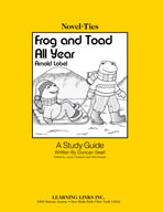Frog and Toad All Year: A Novel-Ties Study Guide