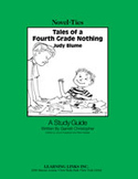 Tales of a Fourth Grade Nothing: A Novel-Ties Study Guide