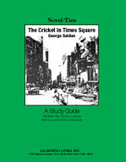 The Cricket in Times Square: A Novel-Ties Study Guide