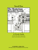The Mysterious Benedict Society: A Novel-Ties Study Guide (Enhanced eBook)