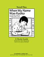 When My Name Was Keoko: A Novel-Ties Study Guide