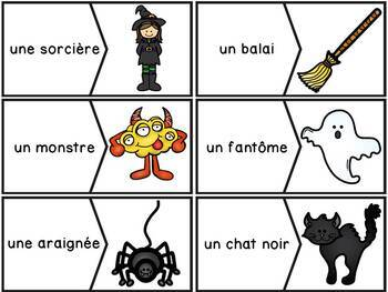 L'Halloween - French Halloween - 40 puzzles