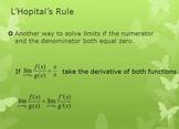 L'Hopital's Rule (PP)