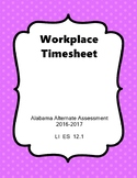 LI ES 12.1 Time Sheet  AAA Extended Standards