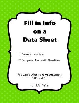 LI ES 12.2 Data Sheet AAA Extended Standard